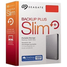 Picture of Seagate Backup Plus Slim 1.5TB SuperSpeed USB 3.0 Portable External Hard Drive