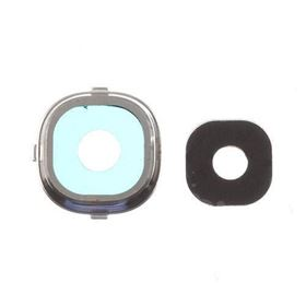 Picture of Camera Lens and Bezel for Samsung Galaxy S4 Silver