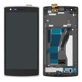 Picture of LCD Screen and Digitizer Touch Screen with Frame for OnePlus One