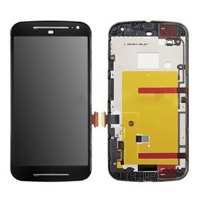 Picture of LCD and Digitizer Touch Screen with Frame for Motorola G2