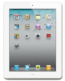 Picture of iPad 2 Wi-Fi + Cellular 16GB - White Grade A